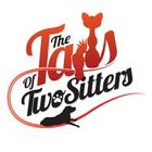 The tails of two sitters
