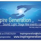 Inspire Generation - Sound, Light, Stage Hire events company
