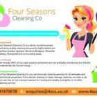 Four Seasons Cleaning Company logo
