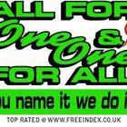 Allforone&oneforall  logo