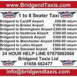 Bridgend Taxis Ltd profile image.