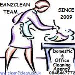 CLEAN2CLEAN LTD profile image.