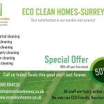 Eco Clean Homes-Surrey profile image.