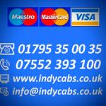 Indy Cabs of Sittingbourne profile image.