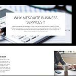 Mesquite Business Services profile image.
