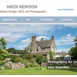 Mick Kenyon Website Design and Photography profile image.