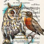 Rhian Wyn Harrison Illustration profile image.