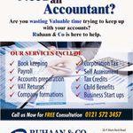 Ruhaan & Co Accountants Ltd profile image.