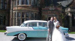 Photo by Yorkshire Classic American Wedding Cars