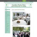 Garden Party Hire