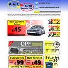 A AND C AUTO REPAIRS LTD
