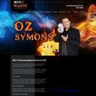 Ozz Symons man of magic