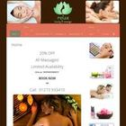 Relax beauty and massage salon