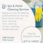 Spit & Polish Cleaning Services profile image.