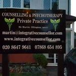 The Integrative counsellor  profile image.
