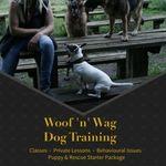 Woof 'n' Wag Dog Training profile image.