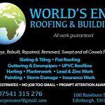 Worlds End Roofing & Building Ltd profile image.